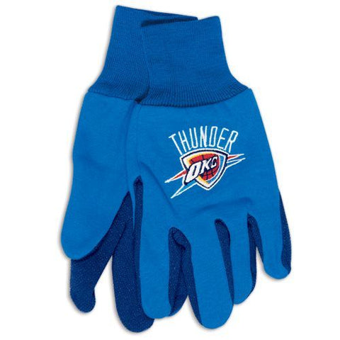 Oklahoma City Thunder Two Tone Adult Gloves