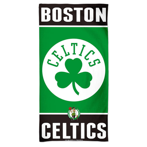 Boston Celtics Towel 30x60 Beach Style