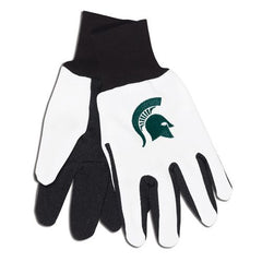 Michigan State Spartans Two Tone Gloves