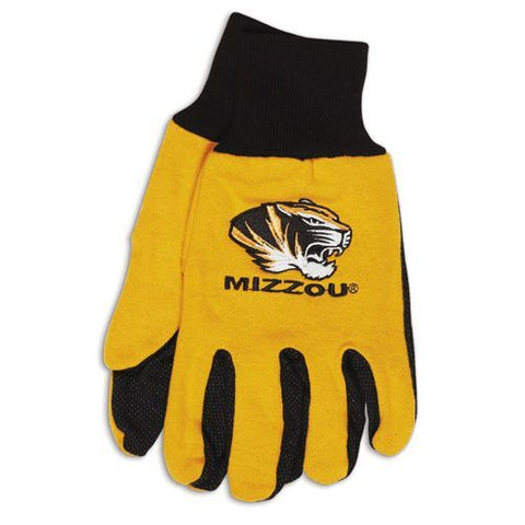 Missouri Tigers Two Tone Adult Gloves