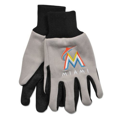Miami Marlins Adult Two Tone Gloves