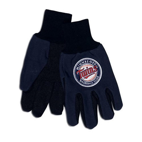Minnesota Twins Two Tone Gloves Adult Size