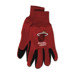 Miami Heat Two Tone Gloves  Adult