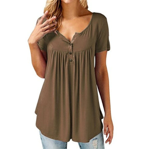 Fashion Casual Elegant Loose Fit Top