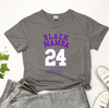 Image of Los Angeles Lakers Kobe Bryant Memorial Black Mamba Women's Short Sleeve Tee