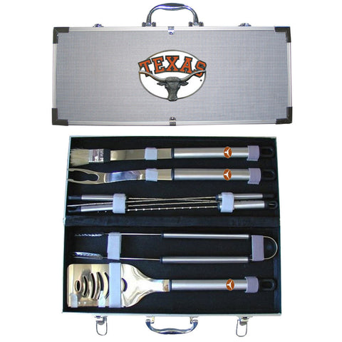 Texas Longhorns Tailgate 8 Piece BBQ Set