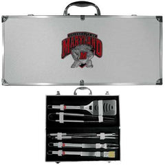 Maryland Terrapins 8 Piece Tailgate BBQ Set