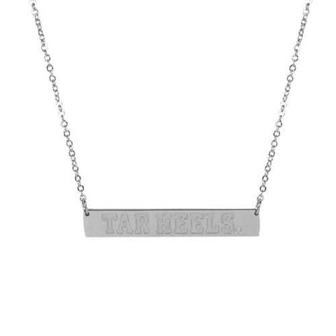 North Carolina Tar Heels Bar Necklace