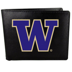 Washington Huskies Large Logo Bi-Fold Wallet