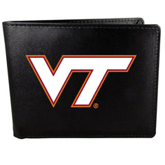 Virginia Tech Hokies Bi-fold Wallet Large Logo
