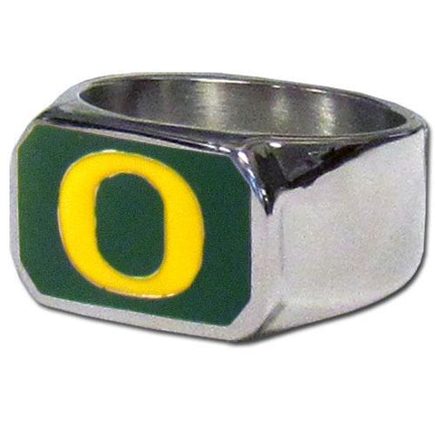 Oregon Ducks Bottle Opener Ring Size 12