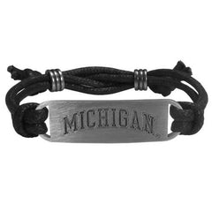 Michigan Wolverines Cord Bracelet