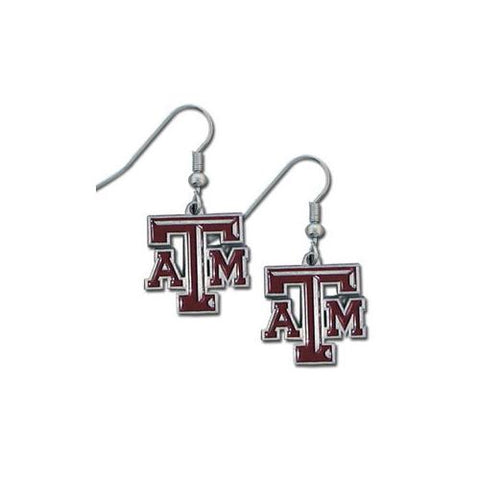 Texas A&M Aggies Dangle Earrings