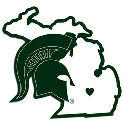 Michigan State Spartans Home State Decal