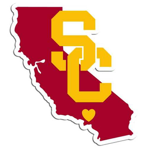 USC Trojans Home State Decal