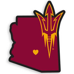 Arizona State Sun Devils Home State Decal