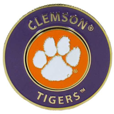 Clemson Tigers Logo Golf Ball Marker