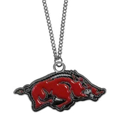 Arkansas Razorbacks Hog Spirit Chain Necklace