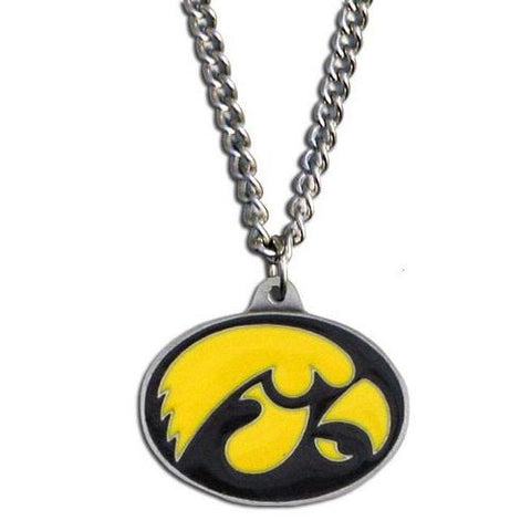 Iowa Hawkeyes Pendant Chain Necklace