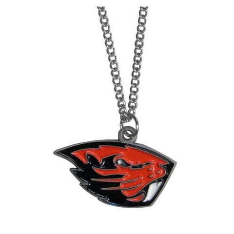 Oregon State Beavers Game Day Pendant Necklace