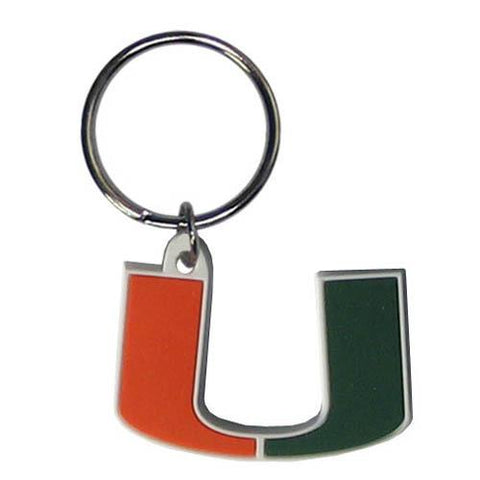 Miami Hurricanes Flex Key Ring