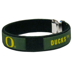 Oregon Ducks Fan Band Bracelet