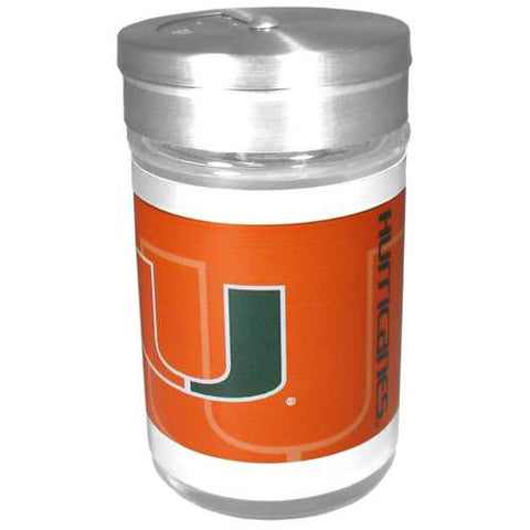 Miami Hurricanes Compact Sea Salt Shaker