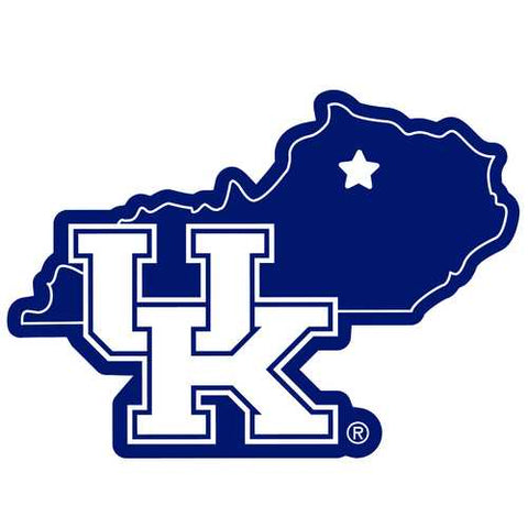 Kentucky Wildcats Home State 11-Inch Magnet