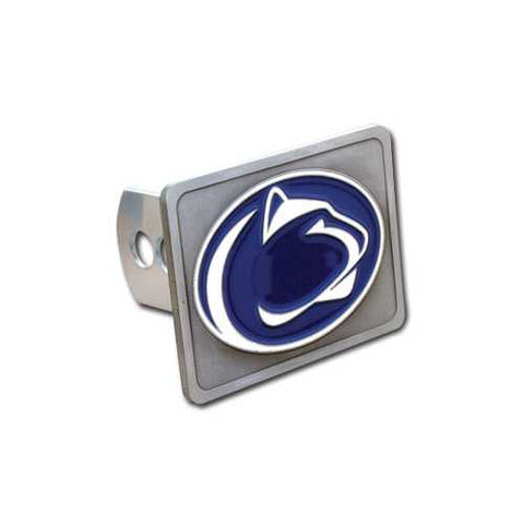 Penn St. Nittany Lions Hitch Cover Class II and Class III Metal Plugs