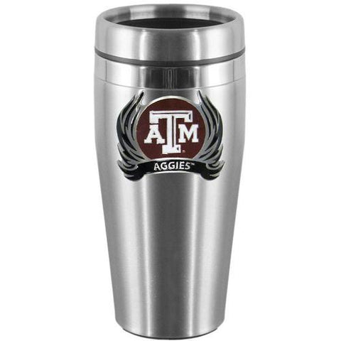Texas A&M Aggies Stainless Steel Travel Mug
