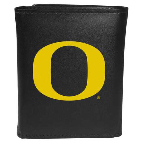 Oregon Ducks Large Logo Trifold Wallet