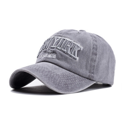 New York Adjustable Premium Cotton Embroidered Hat