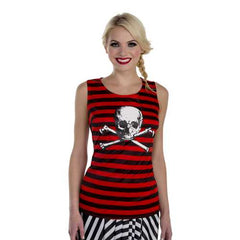 Pirate Tank Adult Womens One Size