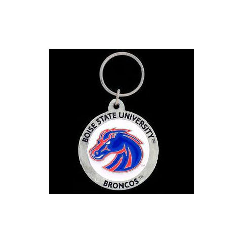 Boise State Broncos Carved Metal Key Chain