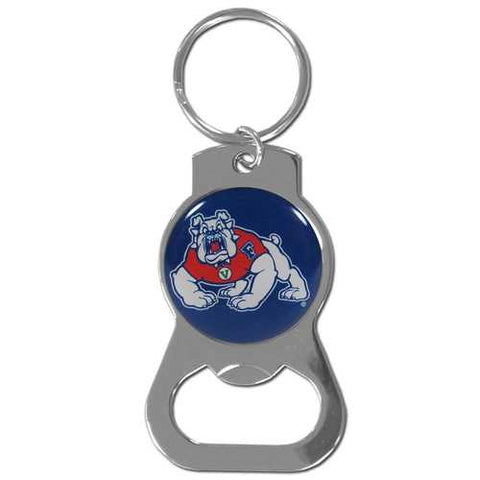 Fresno State Bulldogs Bottle Opener Key Ring