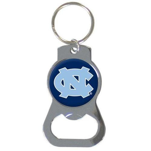 North Carolina Tar Heels Bottle Opener Key Ring