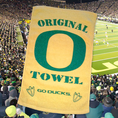 Oregon Ducks Original O Towel