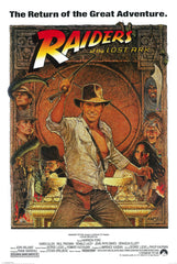Indiana Jones Raiders of the Lost Arc 24x36 Premium Poster