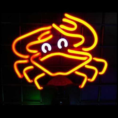 Crab Neon Sculpture Neon Light