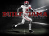 Image of Alabama Crimson Tide Built Gallery Wrap Canvas
