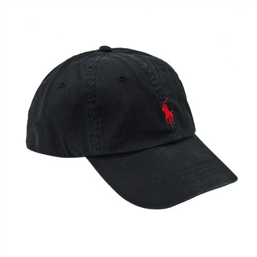 fa654457 Mens Polo Ralph Lauren Cap Black Cotton Twill Hat – Top Brand Outfitters