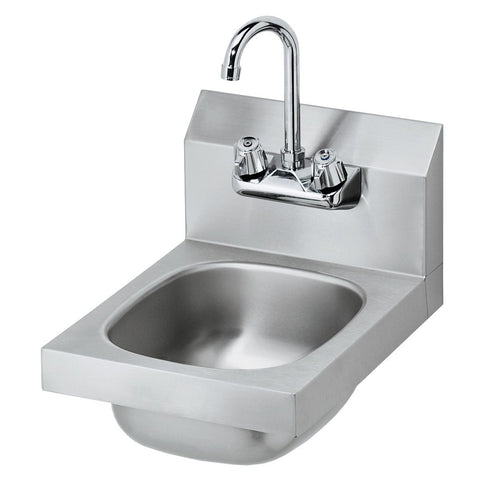 "12"" Commercial Stainless Steel Hand Sink Complete Kit"