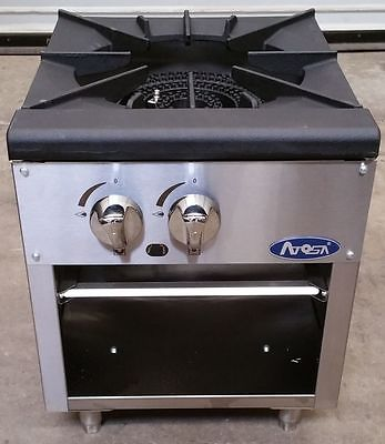 ATOSA Single Candy/Stock Pot Stove, NG/LP - ATSP-18-1