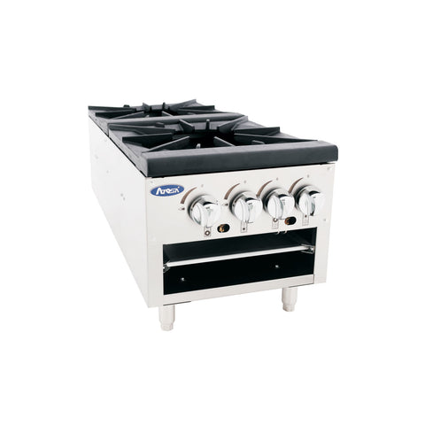 ATOSA Low Profile Double Candy Stove ,NG/LP - ATSP-18-2L