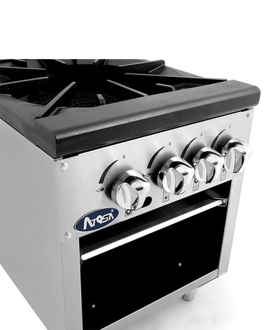 ATOSA Candy Stove:18-in Double Stock Pot Stove - ATSP-18-2