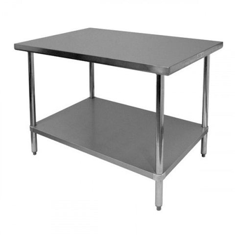 "ATOSA All-Stainless 24"" Deep Prep Tables, NSF-Approved"