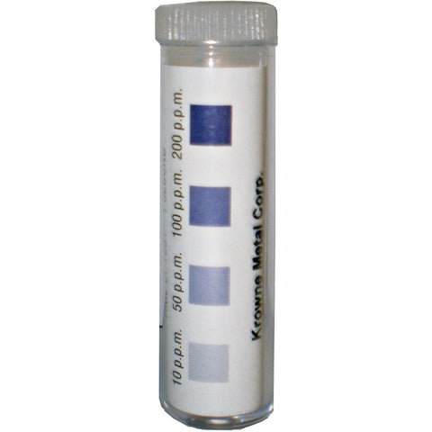 Krowne 25-123 Bottle of 100 Chlorine Test Strips, 0-200 ppm 25-123-100