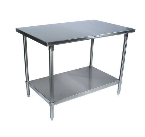 "ATOSA All-Stainless 30"" Deep Prep Tables, NSF-Approved"