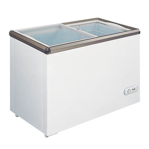 OMCAN 34-inch Ice Cream Reach-In Slide Glass Top  Freezer 7.1CuFt