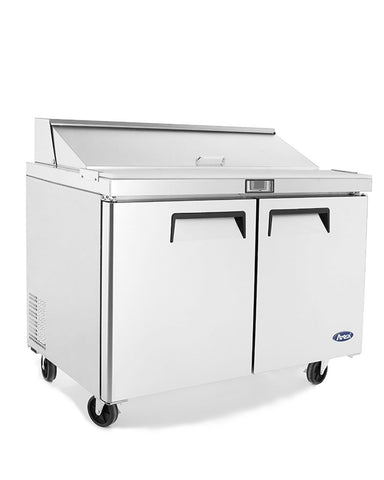 "ATOSA 48"" Standard Bain Marie Prep Table MSF8302 - FREE SHIPPING"